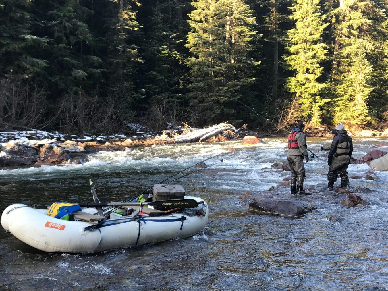 Contemplating the Upper Copper River with Joel Gorley, Derek Botchford, and Ramzy Hattar