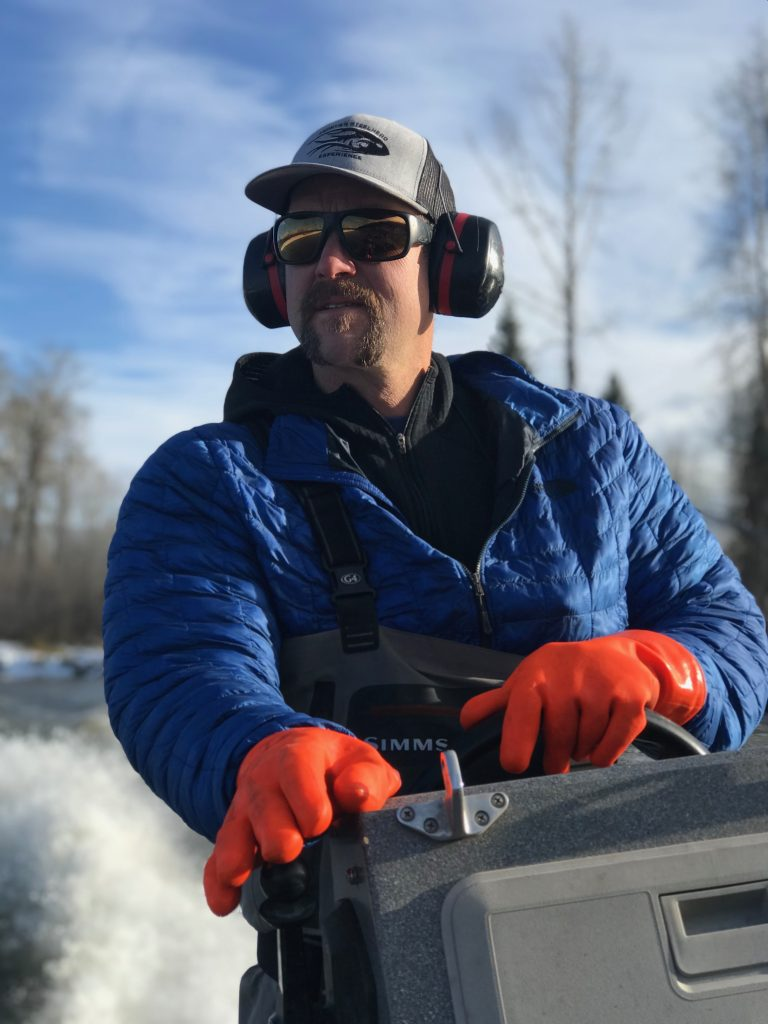 Joel Gorley, senior guide at Epic Waters