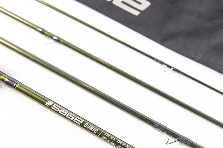 Sage SONIC fly rod closeup